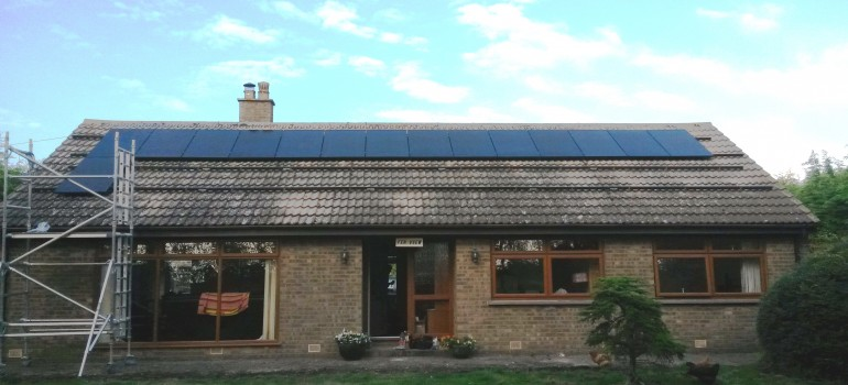 7kW Solar Panel Installation, Ely