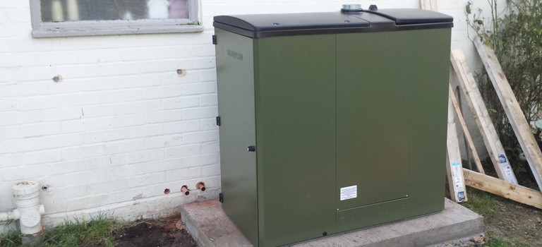 18kW Warmflow Biomass Boiler, Waterbeach, Ely