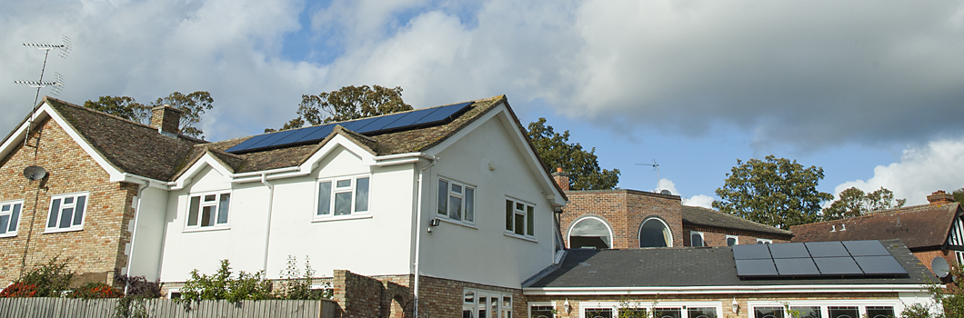 solar panels installed in Ely